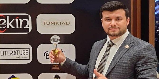 Yılın en iyi çıkış yapan STK Başkanı Kahramanmaraş'tan!