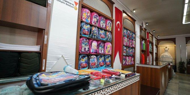 Kahramanmaraş Büyükşehir'den eğitime bir destek daha