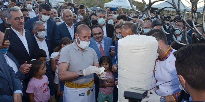 Festivale Alpedo Kervan'ın dondurma şovu damga vurdu