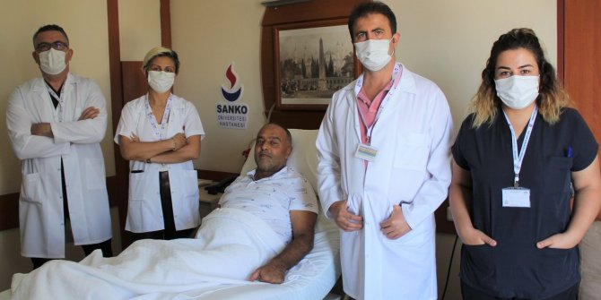SANKO Üniversitesi Hastanesi Gaziantep'te ilki gerçekleştirdi