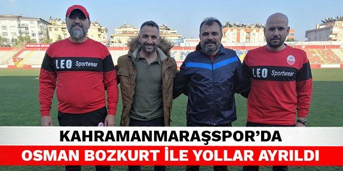 Kahramanmaraşspor'da Osman Bozkurt ile yollar ayrıldı