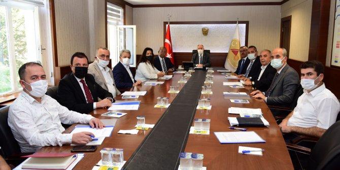Kahramanmaraş Tekstil İhtisas Osb Müteşebbis Heyeti toplantısı yapıldı