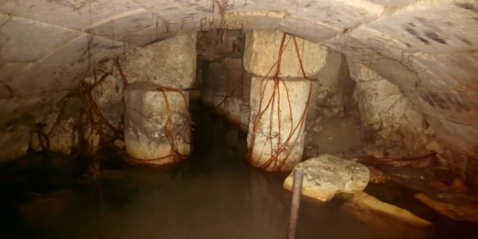 Tarihi Roma Çeşmesi'nde yeni keşif