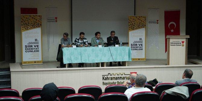 Kahramanmaraş'ta Türkçe'nin Haritası Yunus Emre'yi anlattılar
