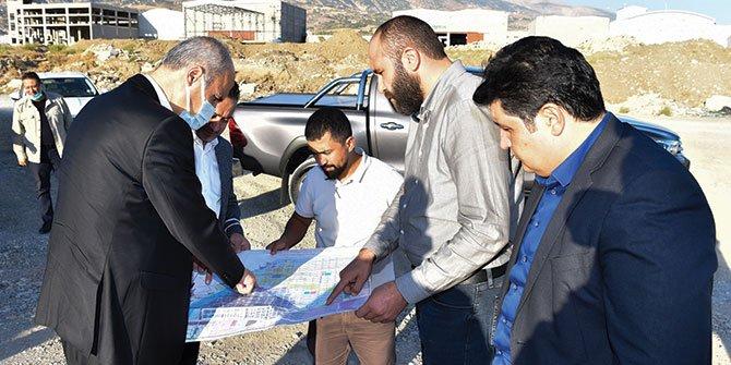 Yeni sanayi alanı Dulkadiroğlu ekonomisine güç katacak