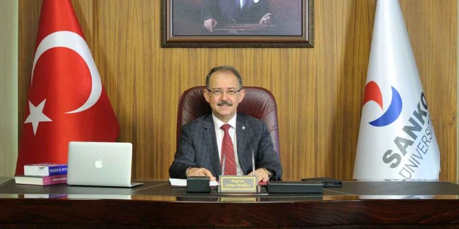 SANKO Üniversitesi Rektörü Dağlı'dan 29 Ekim Cumhuriyet Bayramı mesajı