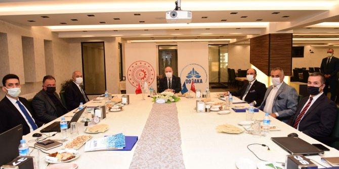 Kahramanmaraş'ta DOĞAKA'nın101. Yönetim Kurulu Toplantısı gerçekleşti