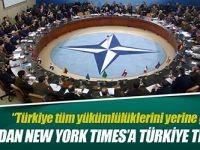 NATO'dan Türkiye'ye Tepkisi