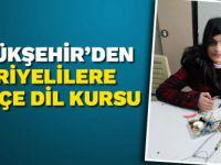 Büyükşehir'den Suriyelilere Türkçe dil kursu