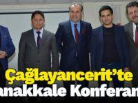 Çağlayancerit'te Çanakkale Konferansı