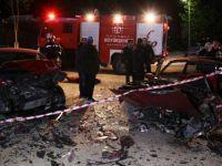 Kocaeli'de iki otomobil kafa kafaya çarpıştı: 7 yaralı
