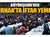 Büyükşehir'den Nurhak'ta iftar yemeği