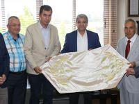 Yavuz Donat KMTSO Başkanı Serdar Zabun ile görüştü