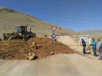 Büyükşehir'den Elbistan'da yol genişletme çalışması