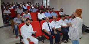 Elbistan'da toplu taşıma sürücülerine eğitim