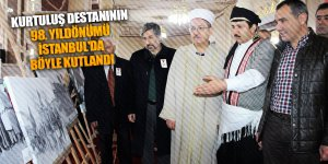Kurtuluş destanının 98. yıldönümü İstanbul'da böyle kutlandı