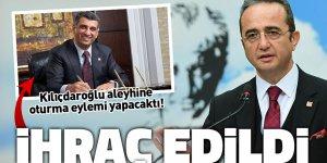 Kılıçdaroğlu aleyhine oturma eylemi yapacaktı! İhraç edildi