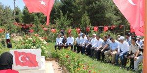 Pazarcık'ta anlamlı ziyaret