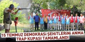 15 Temmuz Demokrasi Şehitleri Anma Trap Kupası Tamamlandı
