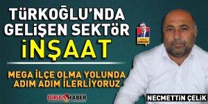 Türkoğlu'nda Gelişen Sektör; İnşaat