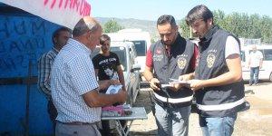 Polisten kurban satıcılarına dolandırılmayın uyarısı
