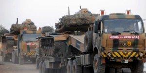 Suriye sınırında askeri sevkiyat