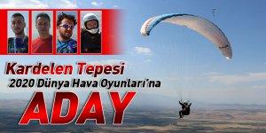 Kardelen Tepesi, 2020 Dünya Hava Oyunları'na aday