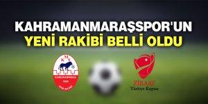 Kahramanmaraşspor'un yeni rakibi belli oldu