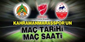 Kahramanmaraşspor'un maç tarihi ve maç saati