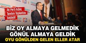 AK Parti Aday Tanıtım Toplantısı başladı! Kişi odaklı değil vatandaş odaklı hizmet yapacağız