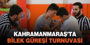 Kahramanmaraş'ta bilek güreşi turnuvası