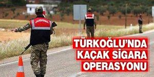 Türkoğlu'nda kaçak sigara operasyonu