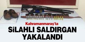 Kahramanmaraş'ta silahlı saldırgan suç aleti ile birlikte yakalandı