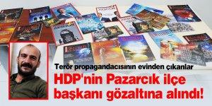 HDP'nin Pazarcık ilçe başkanı gözaltına alındı!