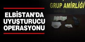 Elbistan'da uyuşturucu operasyonu: 1 tutuklama