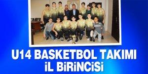 U14 basketbol takımımız il birincisi