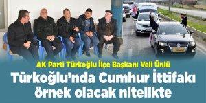 Türkoğlu'nda Cumhur İttifakı örnek olacak nitelikte