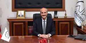 Başkan Okay'ın 5 Nisan Madalya günü mesajı
