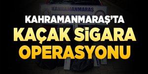 Kahramanmaraş'ta kaçak sigara operasyonu: 3 gözaltı