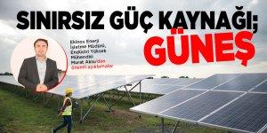Sınırsız güç kaynağı; Güneş