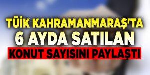 Kahramanmaraş'ta 6 ayda 5 bin konut satıldı