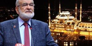 Karamollaoğlu'nun derdi yine Çamlıca Camii: İnsanların anası ağladı
