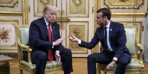 Trump: Macron'un aptallığına karşılık vereceğiz