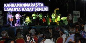 Kahramanmaraş'ta Lavanta Hasat Şenliği