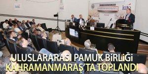 Uluslararası Pamuk Birliği Kahramanmaraş'ta Toplandı