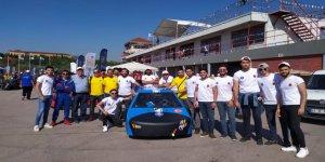 KSÜ'nün Elektirikli Aracı 'Uğur Böceği' TÜBİTAK Elektrikli Araçlar Yarışmasında Dikkatleri Üzerine Çekti
