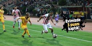 Kahramanmaraşspor 3 puanı kaptı!