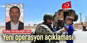 Başkan Kervancıoğlu'ndan Barış Pınarı Harekâtı açıklaması