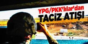 BPH bölgesinde YPG/PKK'lılar'dan taciz atışı