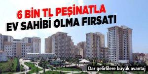 TOKİ'den 6 bin lira peşinat, 344 lira taksitle ev!